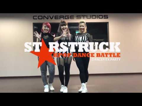 ||Starstruck K-Pop Dance Battle - Auditions|| - E.Y.E.S