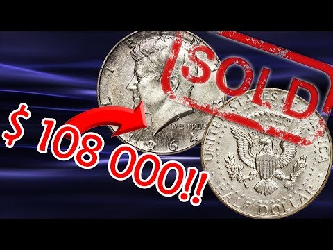 1964 Kennedy Half Dollar Sold For New Record High Price