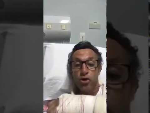 930276e0a2 Neto machuca o braço e diz
