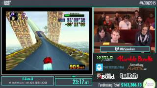 Awesome Games Done Quick 2015 - Part 28 - F-Zero X by WMJ