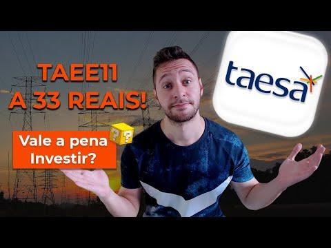 TAEE11, TAEE4 | TAESA a 33 reais, ainda vale a pena INVESTIR? | A rainha dos DIVIDENDOS!