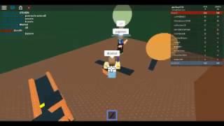 Yo jugando con SrPapayas :V ROBLOX