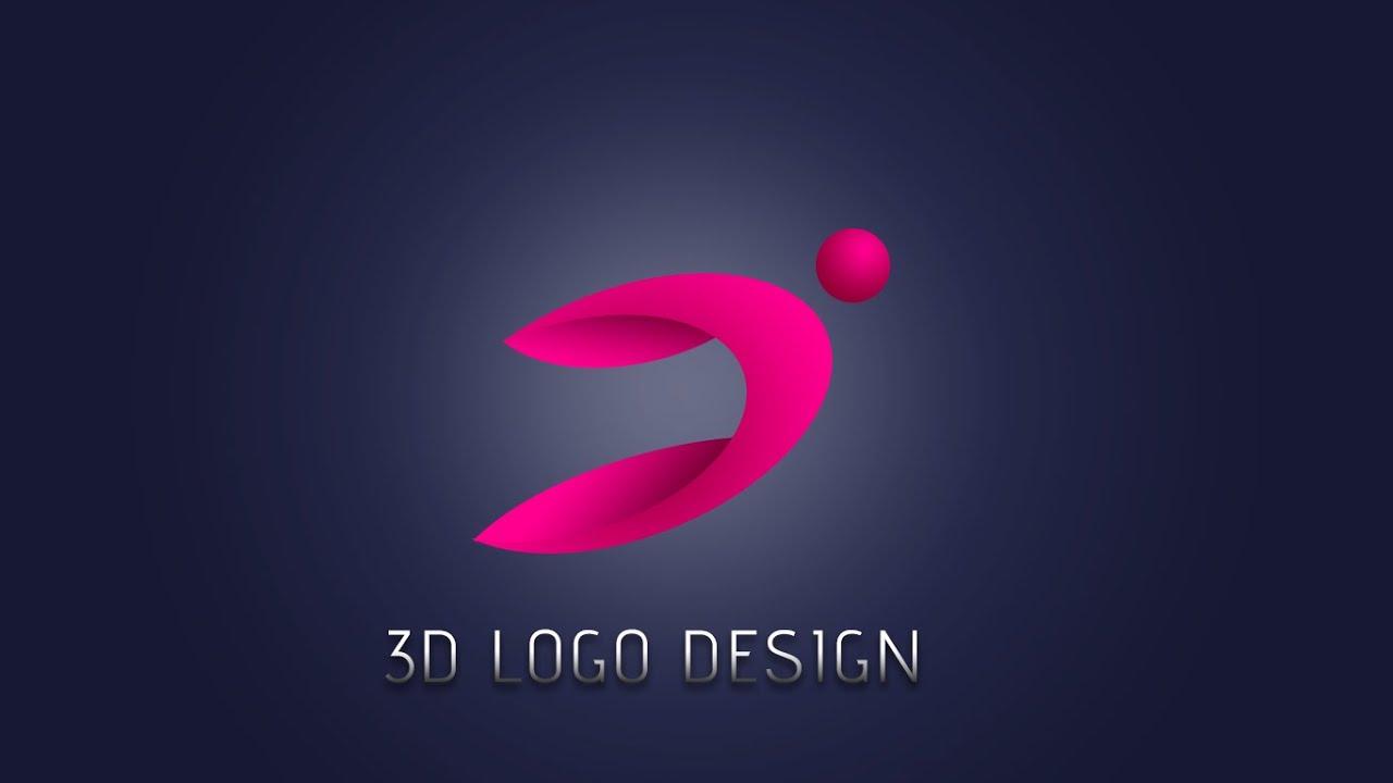 How to make 3d logo design people photoshop tutorial youtube baditri Gallery