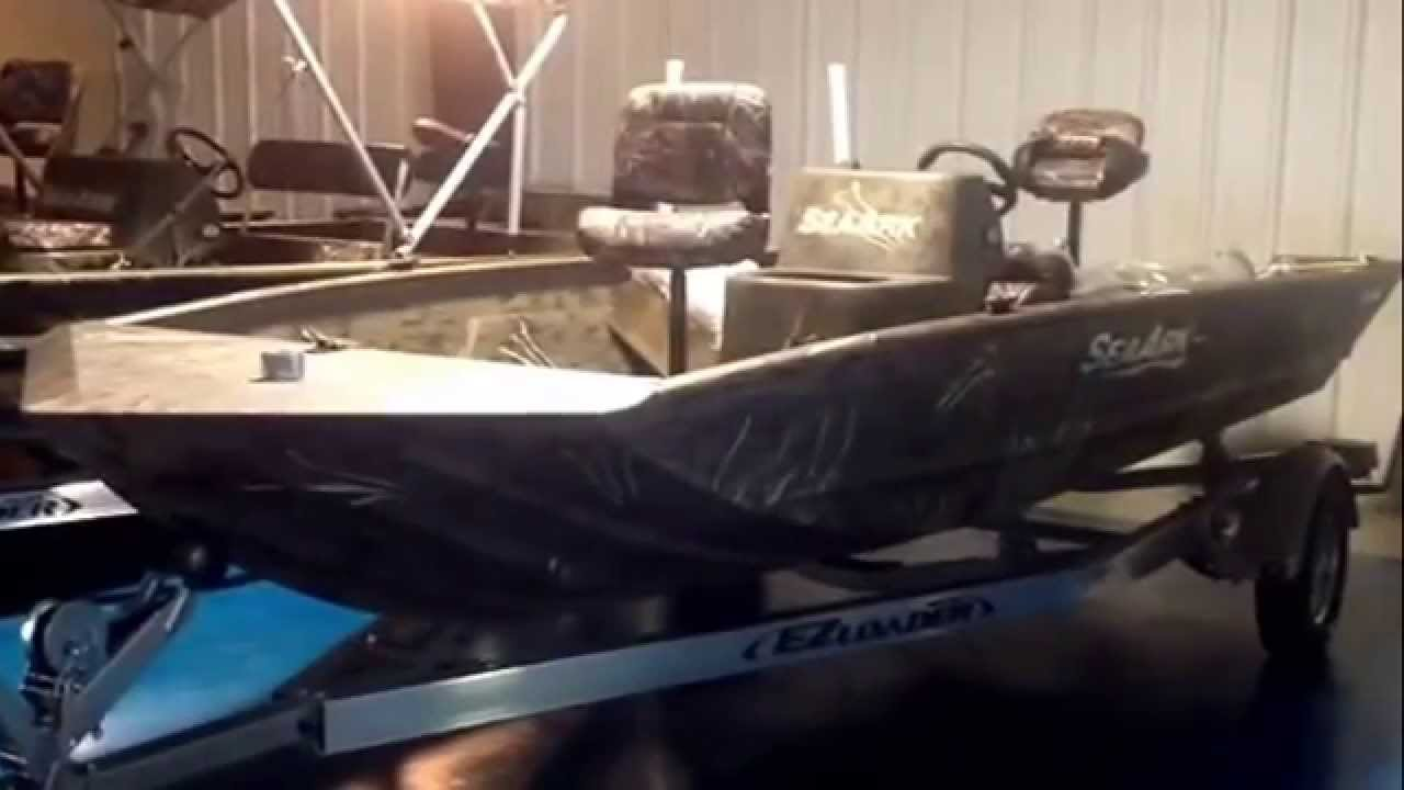 2015 Sea Ark RXV186 Aluminum Fishing Jon Boat For Sale
