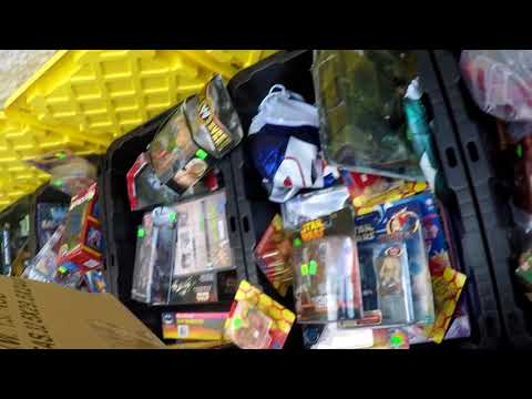 Live Retro Toy Hunting Episode #7 Toy Vault Warehouse sale!!!! GI Joe Transformers so much more....