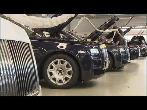 Так собирают Ваш  Rolls Royce. Assembling your car Rolls Royce