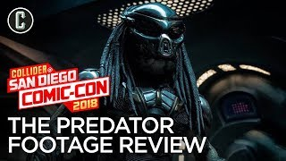 The Predator Footage Review - SDCC 2018