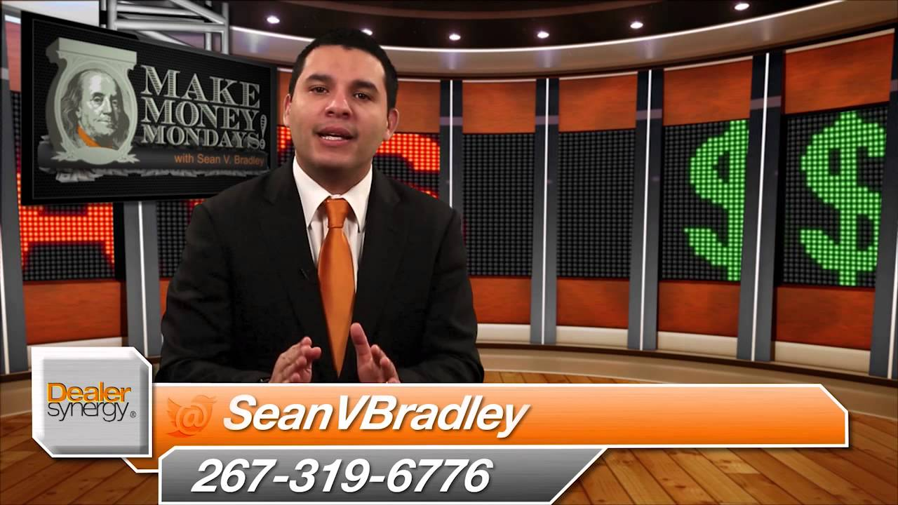 make money mondays with sean v bradley car dealership time management youtube. Black Bedroom Furniture Sets. Home Design Ideas