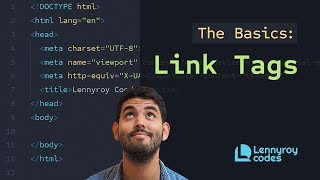 How to add links to your website using HTML | a href | Intro to HTML |