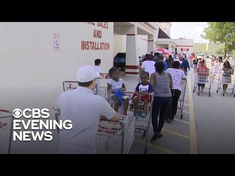 Florida residents preparing ahead of Hurricane Dorian
