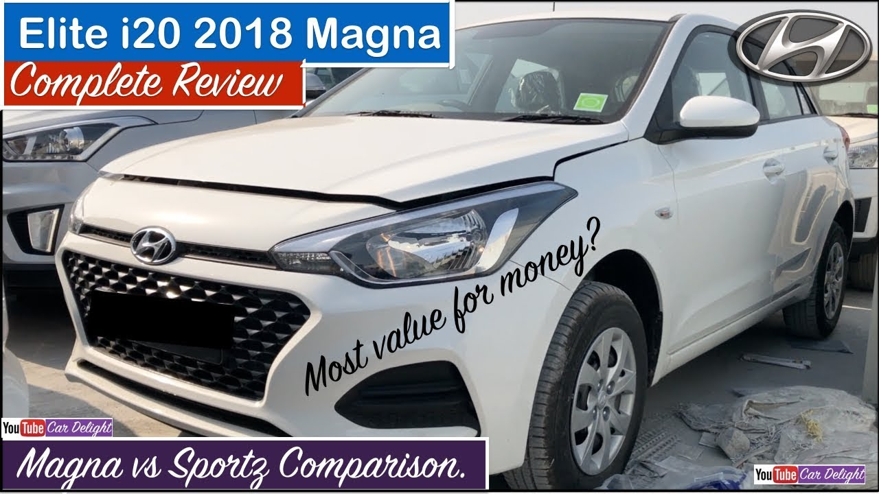 Elite I20 2018 Magna I20 2018 Magna Interior Exterior Features New I20 2018 Magna