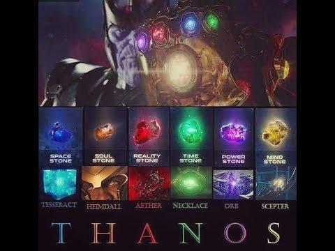 Infinity Stones Infinity War 2018 Soul Stone Shown