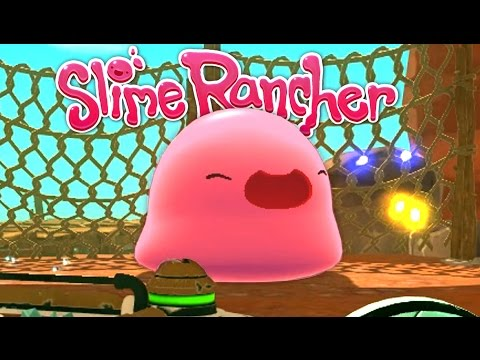 Thumbnail: Trapping Gordos and Slime Dock Farming! - Let's Play Slime Rancher Gameplay