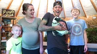 THEY GOT US A PENGUIN!! (Best day ever)
