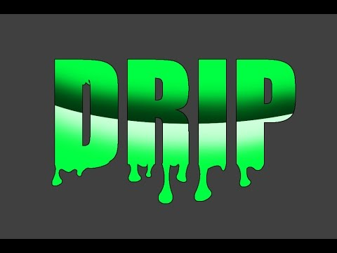 dripping letters font photoshop tutorial text effect 21423 | hqdefault