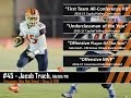 "5'6"" Diminutive yet speedy Sophomore RB plays huge role on Varsity. 4xMVP Jacob Trach 2016-17"