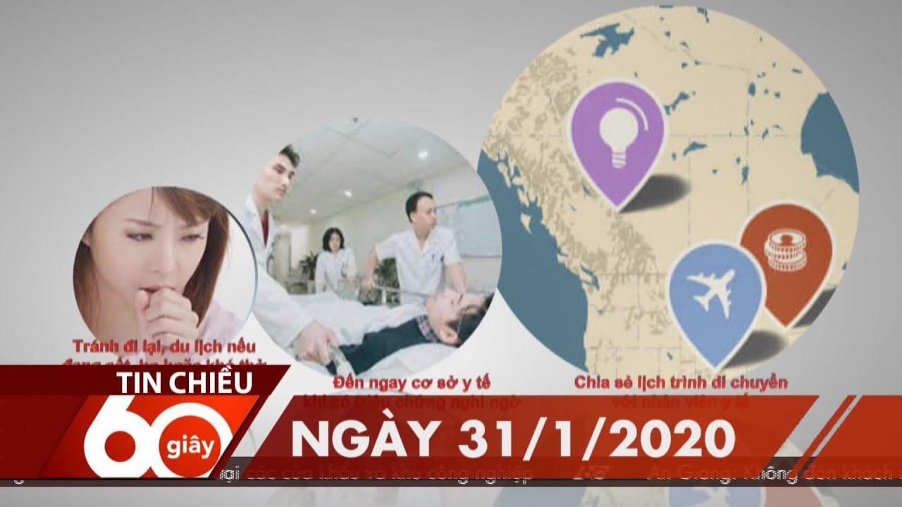 60 Giây Chiều – Ngày 31/01/2020 | HTV Tin tức