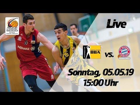NBBL-Livestream: FC Bayern München - PORSCHE BBA Ludwigsburg