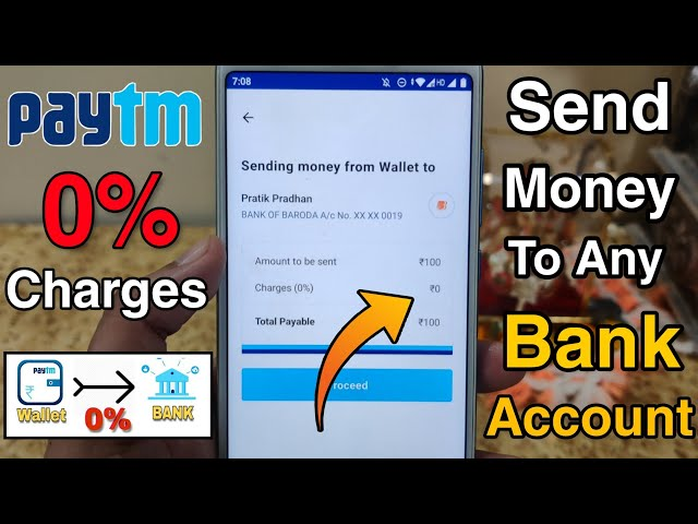 How To Transfer Paytm Wallet Money To Bank Account Without Additional Charges? Paytm Send Money