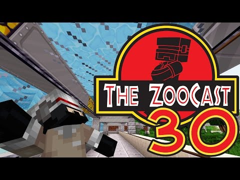 Minecraft Jurassic Park #30 Aquarium Time! [ZooCast]