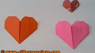 Origami Heart - Simple and Easy Paper Art Crafts for Kids and Everbody