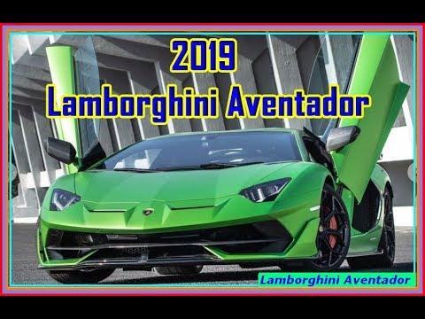 Lamborghini Aventador 2019 New 2019 Lamborghini Aventador Svj