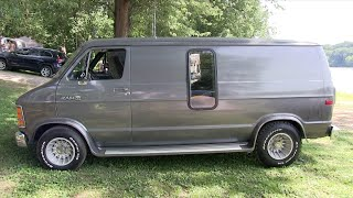 "1986 Custom Dodge Van. ""The Silver Bullet Van"""