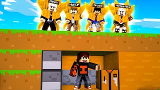 MINECRAFT SURVIVOR VS BARION DO NARUTO 𝗡𝗢 MINECRAFT POCKET EDITION !! ‹ Ine ›