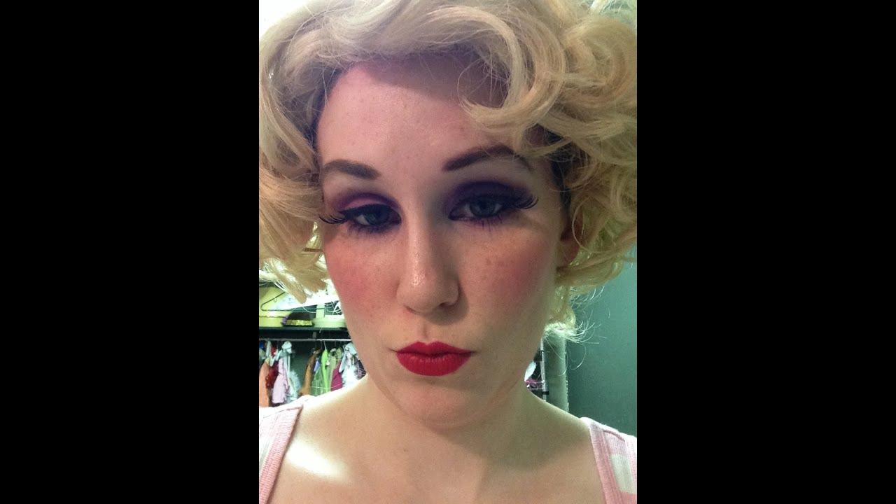 Ziegfeld Follies Show Girl Makeup Tutorial
