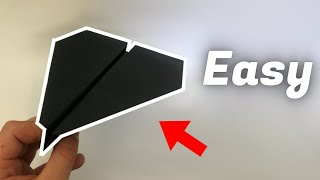 How to make a very simple Paper Plane | EASY tutorial