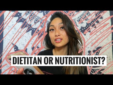 DIETITIAN vs NUTRITIONIST: What's the difference? // #RD2Be applesandamandas