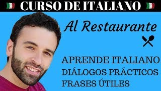 Curso de Italiano - Aprende Italiano con Diálogos Prácticos - Restaurante