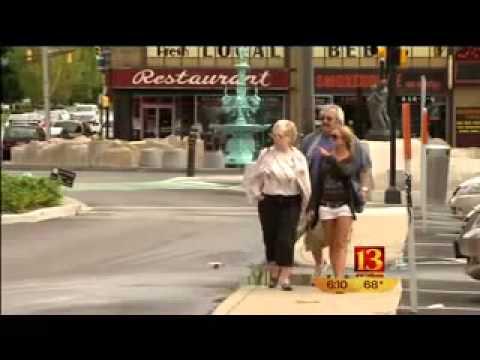 Fountain Square in Indianapolis - 2012