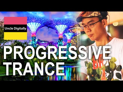 Progressive Trance In The Jewel of The World - Singapore Cityscape