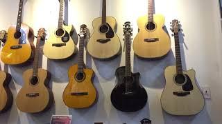 """Bạn """"Thang Kim Park"""" giao lưu guitar tại shop Tiến Nguyễn Music !"""