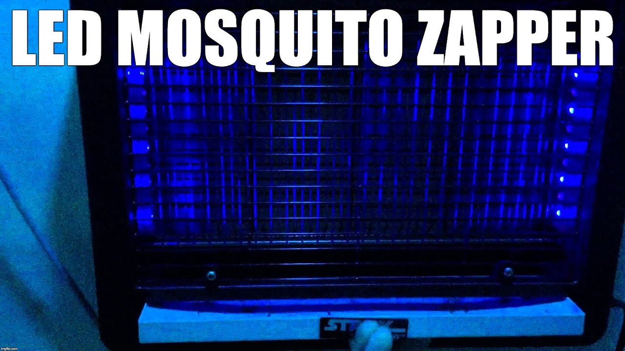 How A Bug Zapper Works Stinger Electronic Insect Killer Model Uvb45 Solved Fixya Do Led Mosquito Zappers Work Youtube