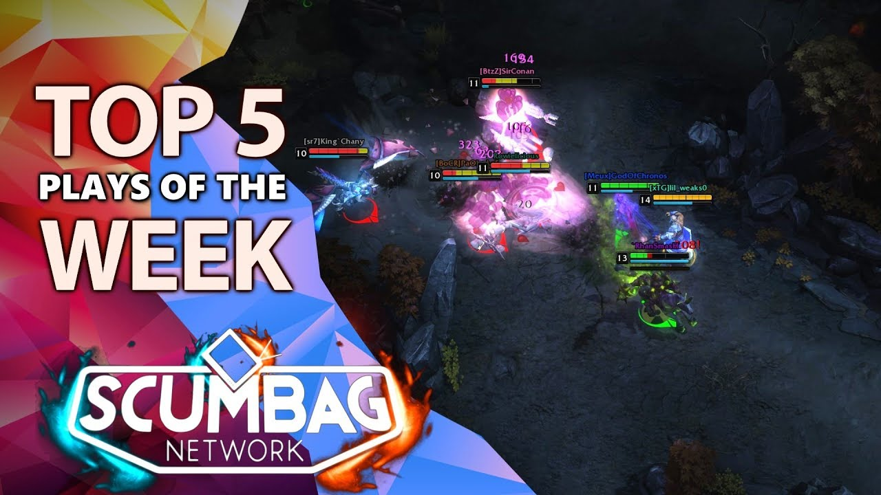 4b0e5597b HoN Top 5 Plays of the Week - December 15th (2018) - YouTube
