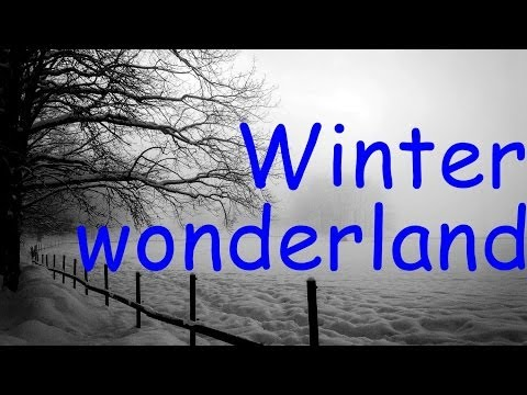 Michael Bublé & Rod Stewart - Winter wonderland (lyrics)