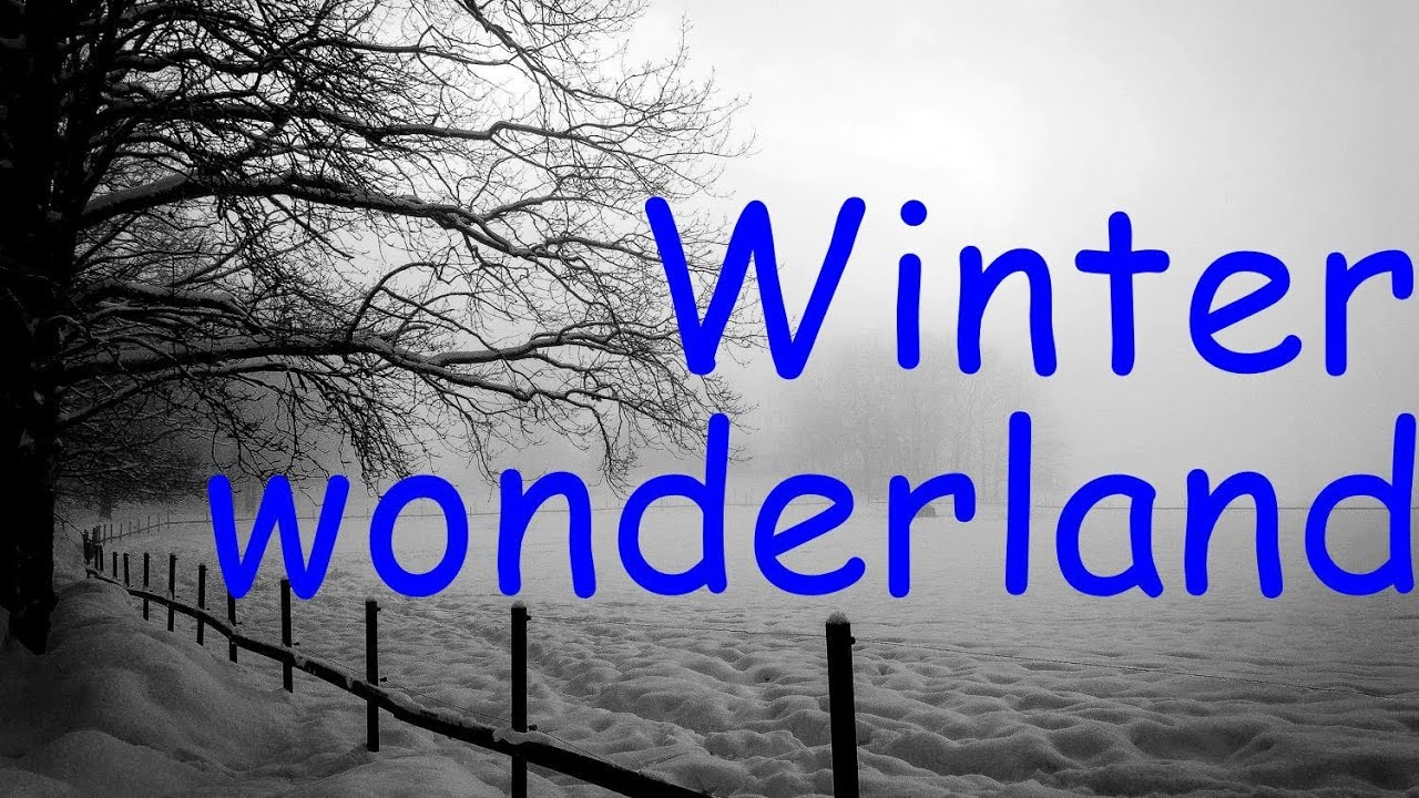michael bubl rod stewart winter wonderland lyrics