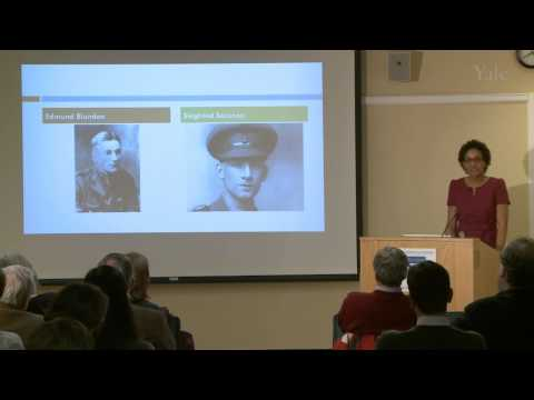 """In the Company of Scholars: """"How to Write a War: Thucydides and the Literature of WWI"""""""