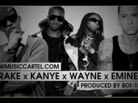 Forever (clean w/lyrics) - Drake feat. Kanye West, Lil Wayne, & Eminem
