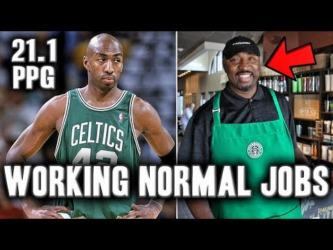 5 Former NBA Stars Now Working Normal Jobs