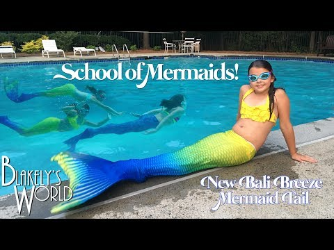 Thumbnail: School of Mermaids | New Bali Breeze Fin Fun Mermaid Tail