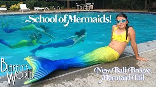 School of Mermaids | New Bali Breeze Fin Fun Mermaid Tail