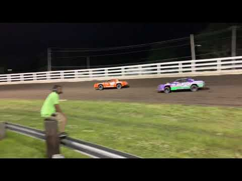 Southern Iowa Speedway - Oskaloosa Iowa Stock Car A-Main 6-26-19