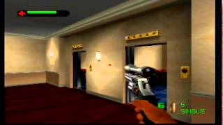007 The World Is Not Enough N64 Level 1 Courier