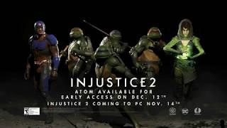 Injustice 2 — трейлер Fighter Pack 3 (с Черепашками-ниндзя)