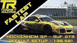 [PCars PC] - STOCK GT3 Fastest Lap at Hockenheim GP: 1:36.561