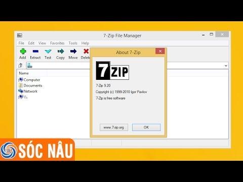 Cách download và cài đặt chương trình 7-ZIP miễn phí