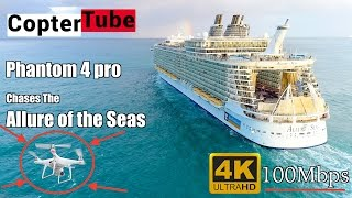 4k live 🔴 footage of Dji Phantom 4Pro 🚁 1-7-2017 Cruise 🛳 chase